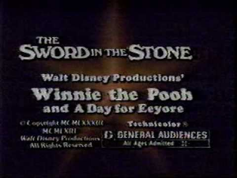Sword In The Stone & Winnie The Pooh And A Day For Eeyore video