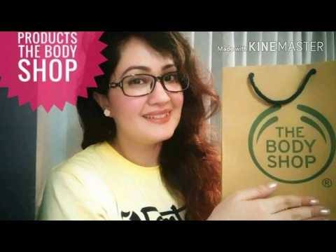 The Body Shop Haul - Must have Products