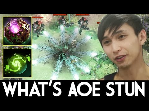 900 AoE Stun ! Imba Talent 7.06 Wraith King by Singsing Dota 2