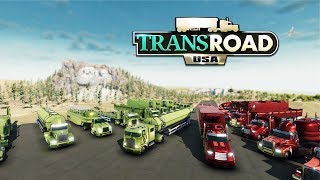 TransRoad: USA Gameplay - Career Let's Play Part 1