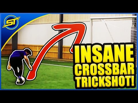 Crazy Crossbar Skill! Like/Share For Tutorial ★ HD - Ronaldo/Neymar/Messi Skills