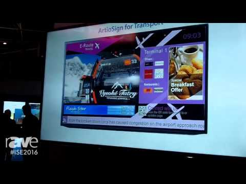 ISE 2016: Exterity Launches ArtioSign Digital Signage Solution and IPTV