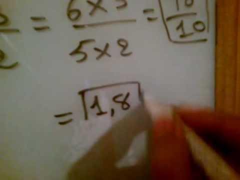 درس الأعداد الكسرية: الجميع والطرح والضرب والقسمة