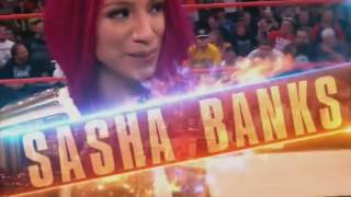 WWE SummerSlam 2016 Sasha Banks vs Charlotte Women's Championship Match Card
