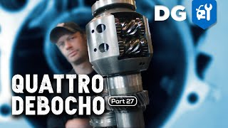 800 lb-ft Quattro Transmission Gets A Front Limited-Slip Differential | Debocho [S3 E1]