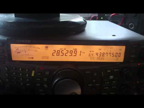 Amateur Radio Contest - HZ1TT (Saudi Arabia) in QSO with SN5V