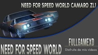 Need For Speed World - Camaro Zl1
