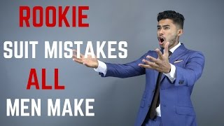5 Mistakes Men Make With a New Suit
