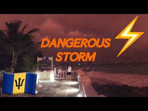 ALMOST DIED IN A HURRICANE ‼️ | Barbados Vlog