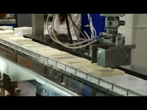 Tofu handling robot picks up soft, delicate food with ease #DigInfo