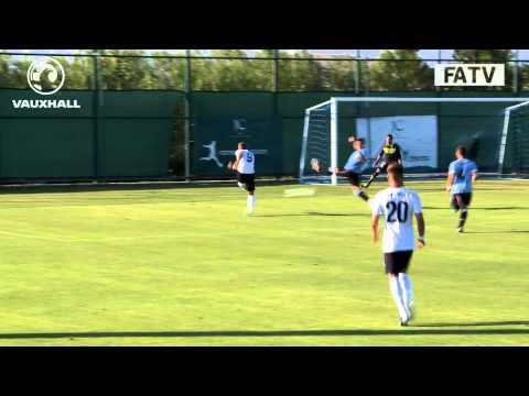 England U20s vs Uruguay U20s 3-0 highlights, friendly before World Cup in Turkey