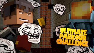 Minecraft | MAXIMUM OVER TROLL | Ultimate Parkour FACE-OFF Challenge w/ Jason (Minecraft Trolling)