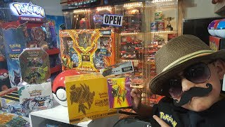 BEST SECRET RARE EVER!! Catching Your Favorite Pokemon At Carls Collectibles #9!! TAPU KOKO STUFF!!