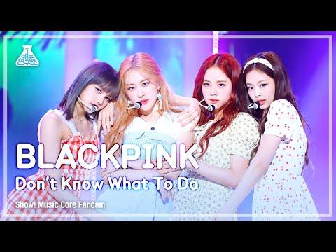 [예능연구소 직캠] BLACKPINK - Don't Know What To Do, 블랙핑크 - Don't Know What To @Show! Music Core 20190406