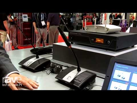 InfoComm 2014: Sennheiser ADN Wireless Discussion System