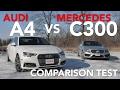 2017 Audi A4 2.0TFSI Quattro vs 2017 Mercedes-Benz C300 4Matic