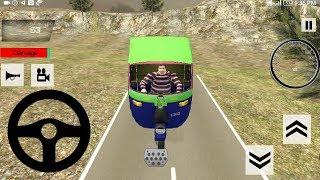 Tuk Tuk Auto Rickshaw Offroad Mountain Driving Game || Tuk Tuk Auto Rickshaw Game || Racing Games 3D