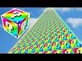 999.999.999 METRE GÖKKUŞAĞI ŞANS BLOKLARI KULESİ - Minecraft