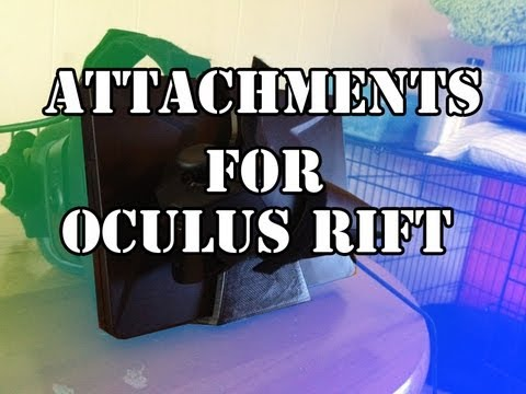 3d Printed Oculus Rift Accessories