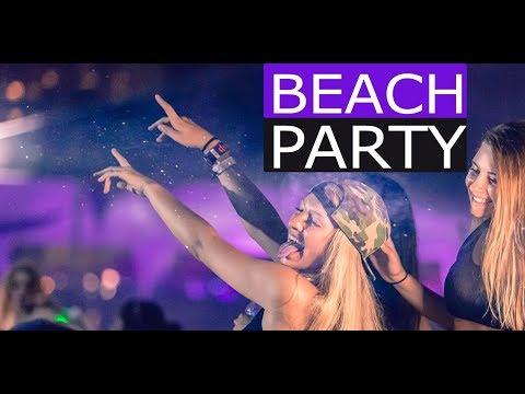 Beach Party Mix - EDM Electro House Music 2017