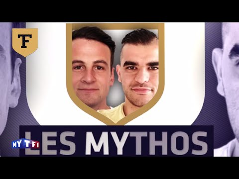 Les Mythos : parodie de Willy Sagnol, Jean-Michel Aulas, Michel et Didier Deschamps