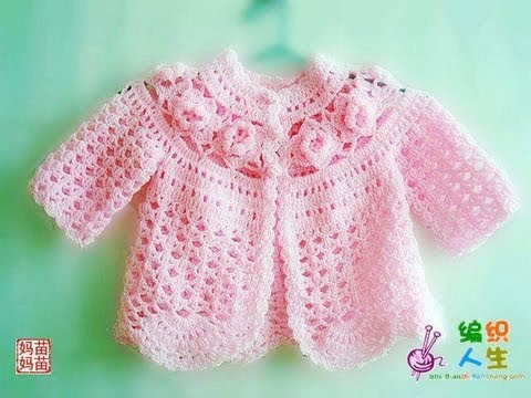 Youtubecroche : Crochet Baby Frock - YouTube
