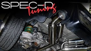 SPECDTUNING INSTALLATION VIDEO:2003-2007 INFINITI G35 COUPE CATBACK EXHAUST