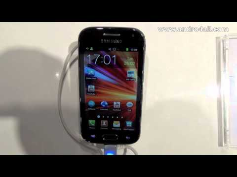 Video: Samsung Galaxy Ace 2 MWC 2012 [HD]