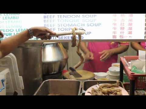 Travel Malaysia - A World Nomad Eats Bull Penis Soup In Penang