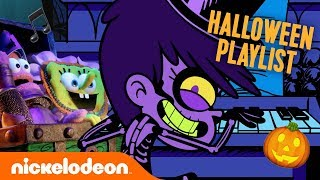 Halloween Haunted Playlist! 🎃 SpongeBob, The Loud House & More Get Spooky! | #MusicMonday