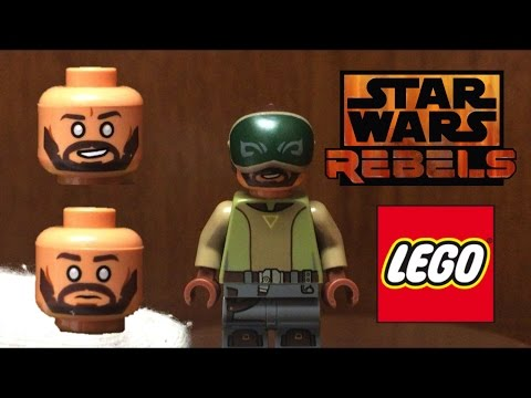 Lego BLIND KANAN Minifigure Star Wars Rebels from The Phantom 2017 Set Review!!