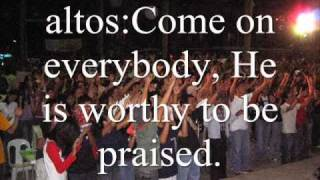 Watch Youth For Christ Come On Lets Worship Him video