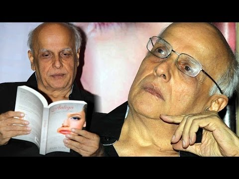 Mahesh Bhatt Embraces Aaliya Book Launch