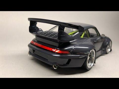 Tamiya/Scaleproduction: RWB Porsche 911 993 Full Build Step by Step