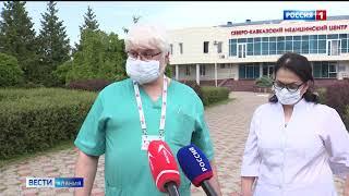 Благотворительный фонд «Иристон» приобрел для врачей СКММЦ средства индивидуальной защиты