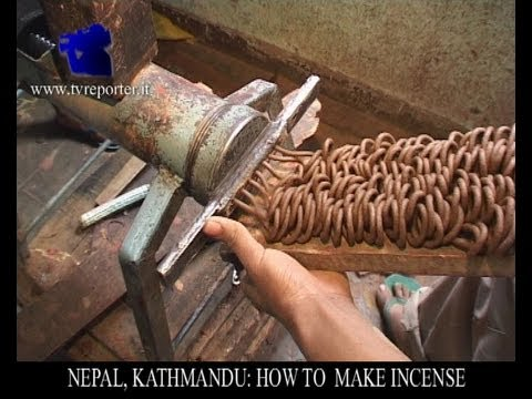HOW TO MAKE INCENSE STICK