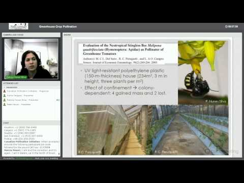 NSERC-CANPOLIN Greenhouse Crop Pollination Webinar 21 March 2014