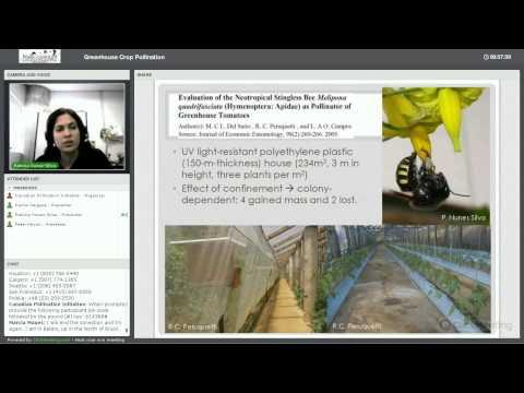 NSERC-CANPOLIN Greenhouse Crop Pollination Webinar 21 March 2014