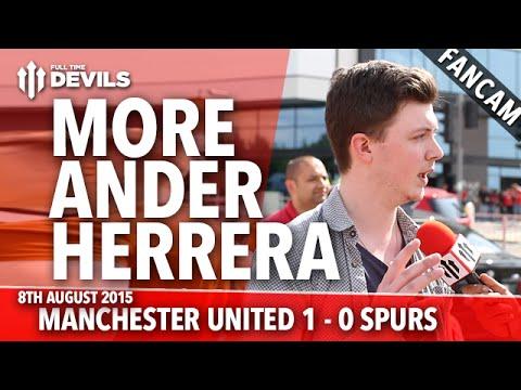 Manchester United 1-0 Tottenham Hotspur | More Ander Herrera | FANCAM
