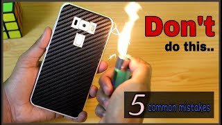 [Hindi] 5 COMMON MISTAKES WITH SMARTPHONES | All You Need To Know