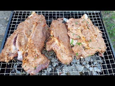 Мясо на решётке Телятина