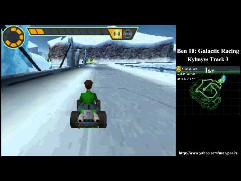 Ben 10 Glactic Racing Kylmyys Track 3 Walkthrough Part 7 (2011 DS NDS) 1080p HD