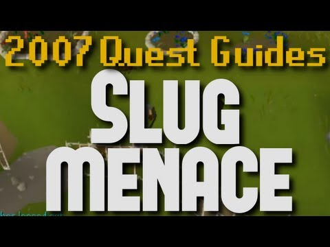 Runescape 2007 Quest Guides: The Slug Menace