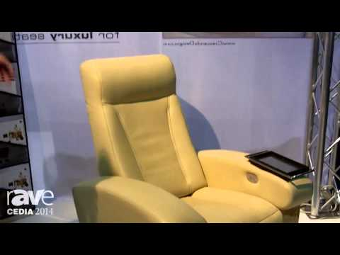 CEDIA 2014: CINEAK Showcases Every High End Fortuny Luxury Edition Home Theater Recliner