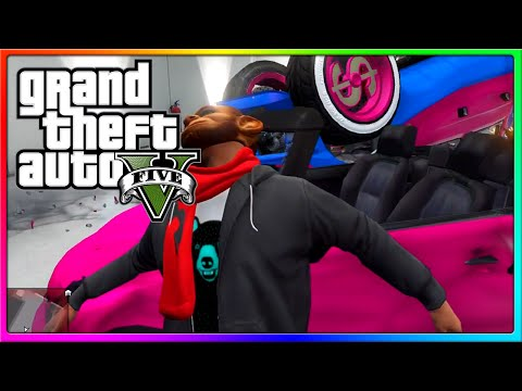 GTA 5 Online - Car Garage Glitch, People Spawning in, and other Funny Moments! (GTA Online Glitches)