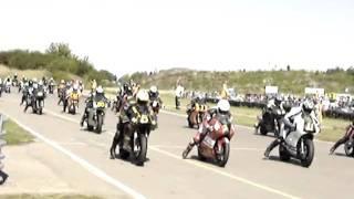 Supermono start Michel Oranje Ducati Zweden 2006.MPG