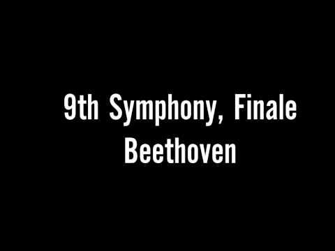 Бетховен Людвиг ван - Девятая симфония (Ода радости)