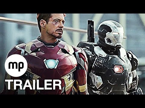 CAPTAIN AMERICA 3: CIVIL WAR Trailer German Deutsch (2016) The First Avenger 3