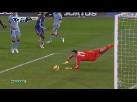 Thibaut Courtois Vs Manchester City (Home) Barclays Premier League (31/01/2015)