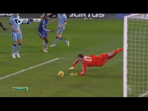 Thibaut Courtois Vs Manchester City (Home) Barclays Premier League (31/01/2015)
